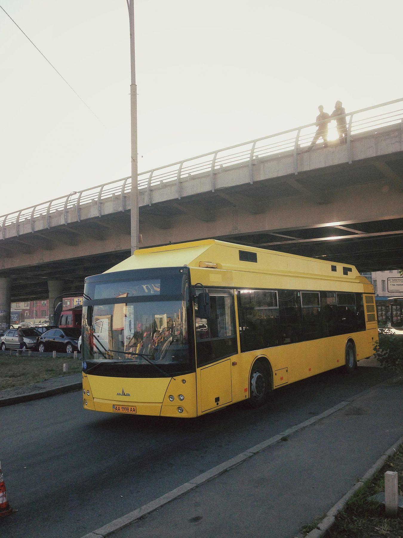 ukraine bus stunt