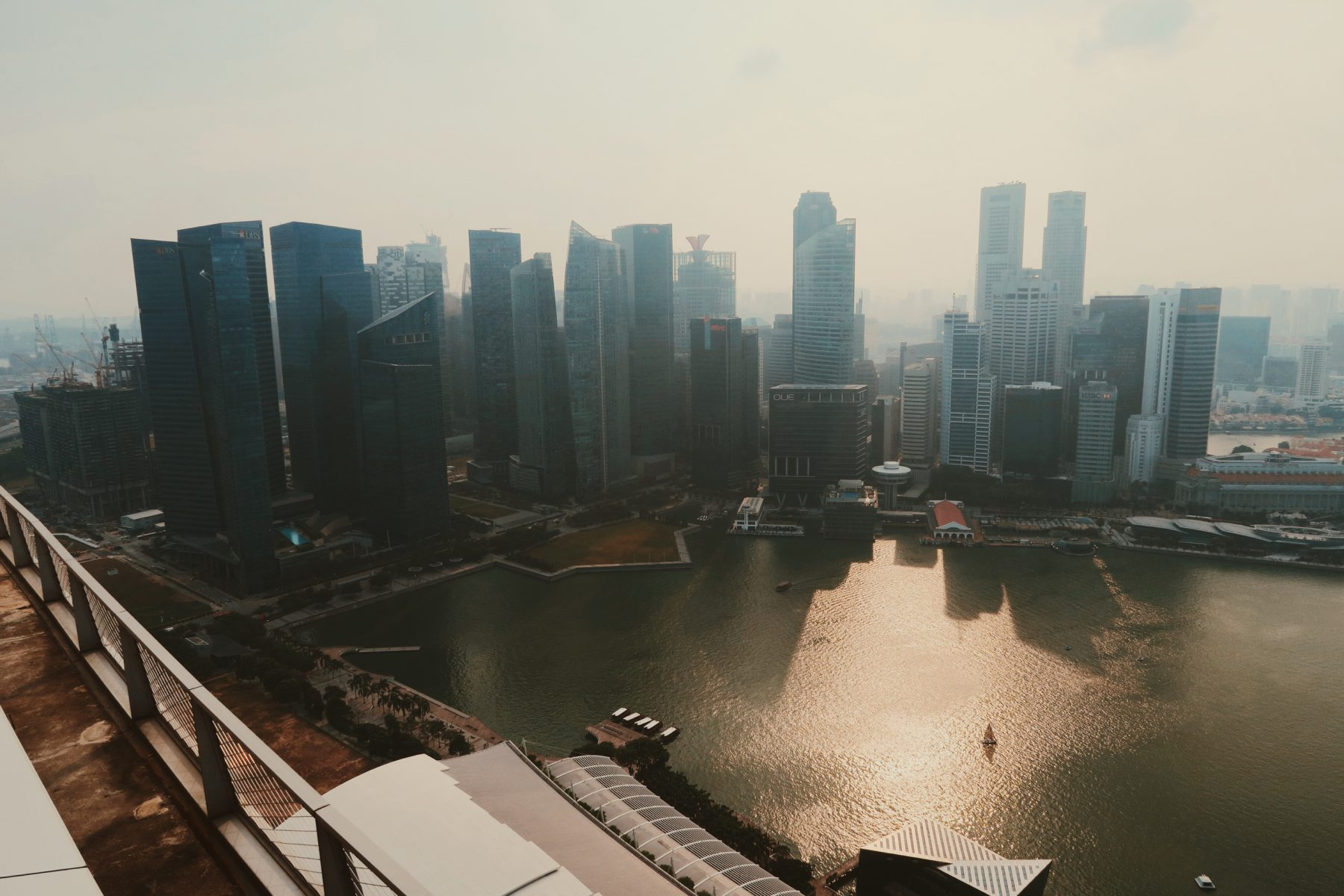 Scott Bass - Travel and Parkour in Singapore 06